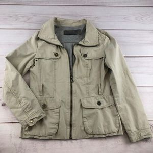 ZARA Basic Jacket Khaki Medium (#255)